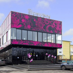 В станице Ессентукской открыт новый универсам Жемчужина.